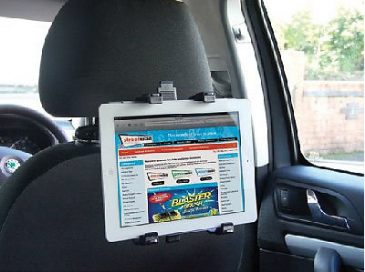 Streetwize IPAD DVD & Tablet in Car Holder - Headrest Mounted